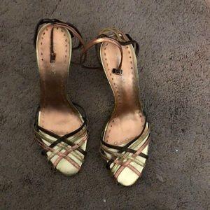 BCBGirls size 8 high heel shoes